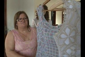 Artesã paraibana vai expôr produtos em mostra da ONU - Renda renascença do Cariri paraibano estará à mostra nos Estados Unidos.