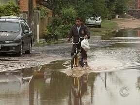 Moradores da Ilha tem problemas com as chuvas e com más condições das estradas - Moradores do Sul e Norte da Ilha tem problemas com as chuvas e com más condições das estradas