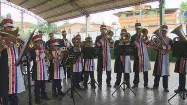 Copa Estadual de Bandas e Fanfarras entra na fase semifinal - Grupos de várias escolas participam do evento em Moreno, Grande Recife.