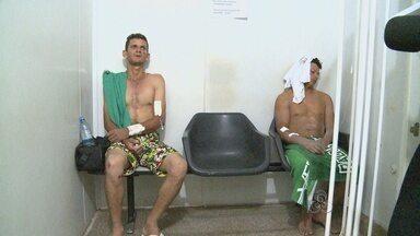 Dois trabalhadores sobrevivem ao desmoronamento em uma mina em Itapoã do Oeste - Trabalhadores foram transferidos para Porto Velho e continuam internados no Pronto Socorro João Paulo II, sob cuidados médicos.