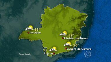 Defesa Civil emite alerta de baixa umidade do ar na mudança de estação - Veja no mapa os detalhes da previsão do tempo.