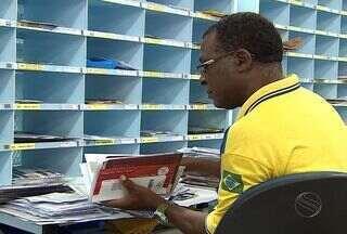 Correios realiza mutirão para regularizar a entrega de documentos e encomendas - Desde a última quarta-feira, funcionários dos correios estão em greve, eles reivindicam reajuste salarial.