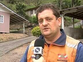 Alfredo Wagner decreta situação de emergência por causa das chuvas - Alfredo Wagner decreta situação de emergência por causa das chuvas