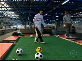 Campanha em SP incentiva prática esportiva e atividade física - Ações da 'Move Brasil' acontecem em diversas regiões da cidade. Sesc disponibilizou estrutura de 19 unidades para o evento.