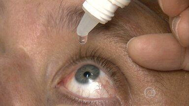 Mudanças bruscas de temperatura favorecem o aparecimento de conjuntivite - Doença, geralmente, provoca muito incômodo nos olhos. Cuidados simples evitam complicações.