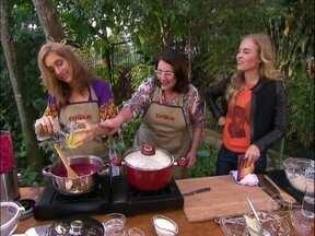 Culinária judaica! Rosane e Betty Gofman ensinam receitas tradicionais - Borsh e Vareniks são pratos que não saem da mesa das atrizes. Aprenda!