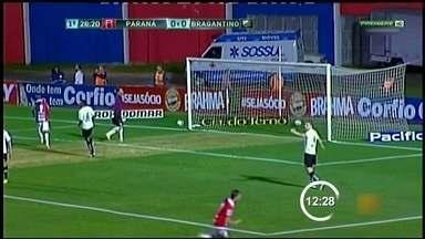 Paraná vence o Bragantino por 1 a 0 e volta ao G-4 - O Paraná venceu o Bragantino por 1 a 0 na noite desta terça-feira.
