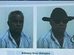 Suspeito de matar promotor é preso em Pernambuco - Edmacyr Cruz Ubirajara foi reconhecido pela noiva do promotor de Justiça, Thiago Faria Soares, assassinado em Itaíba, no agreste do estado. O suspeito de ser o mandante do crime, o fazendeiro José Maria Pedro Rosendo Barbosa, está foragido.