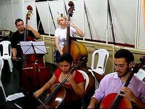 Festival em Uberlândia incentiva jovens que buscam futuro na música - Evento ocorre até até domingo (20) e os ingressos são gratuitos para todos os dias.