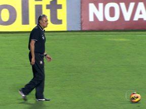 Tite fica no Corinthians e avisa: 'Pedir demissão neste momento é coisa de covarde' - Mesmo com mau momento do time, técnico garante que vai cumprir o seu contrato até o final.