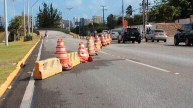Trecho da Av. Washington Soares é bloqueado neste fim de semana - Na Avenida Borges de Melo, também terá interdição a partir das 14h deste sábado.