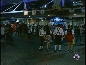 Expectativa de público na Oktoberfest é de 60 mil no fim de semana - Expectativa de público na Oktoberfest é de 60 mil no fim de semana.