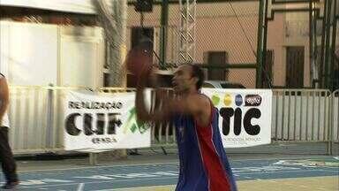 Ginásio Paulo Sarasate recebe campeonato de basquete - Evento é realizado pela Central única das Favelas.