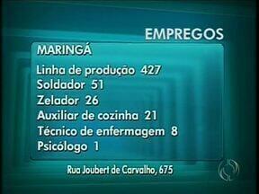 Agência do Trabalhador de Maringá tem mais de 400 vagas para auxiliar de produção - Confira outras oportunidades na Coluna Emprego