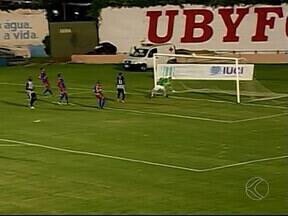 Funorte vence Nacional de Uberaba no estádio Uberabão - Peri e Flávio Torres fizeram os gols da virada do time de Montes Claros
