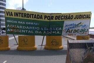 Prefeitura de Aracaju inicia as obras de contenção do avanço do mar na Avenida Beira Mar - Prefeitura de Aracaju inicia as obras de contenção do avanço do mar na Avenida Beira Mar. Confira.