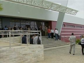 Palmares, na Mata Sul, ganha Fórum que também vai atender a municípios da região - Inauguração ocorre três anos após a enchente que atingiu a antiga sede do judiciário.