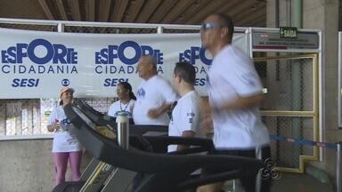 Esporte e Cidadania incentiva prática de esportes no Amazonas - Projeto promoveu sábado de atividades esportivas, na Zona Leste de Manaus.