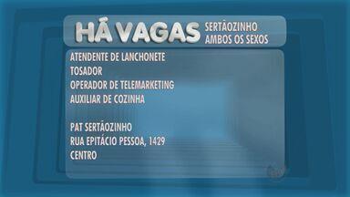 Veja as vagas de emprego disponíveis no PAT de Sertãozinho - Posto de Atendimento ao Trabalhador da cidade fica na Rua Epitácio Pessoa, 1.429, no Centro.