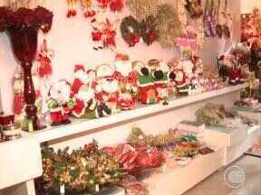 Comércio de Teresina já se prepara para o Natal - Comércio de Teresina já se prepara para o Natal