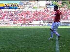 Esporte: resultado do exame de Leandro Damião será divulgado nesta terça-feira - Jogador voltou a marcar contra o São Paulo, mas saiu com uma lesão muscular.