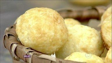 Pãozinho de Tapioca - Delícia leva ainda parmesão e polvilho doce