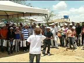 Feira reúne pesquisadores e agricultores de todo o Brasil em Petrolina (PE) - A Semiárido Show é organizada pela Embrapa e leva centenas de pessoas para a cidade do sertão pernambucano. Alternativas para a convivência com o clima quente e seco, são mostradas durante o evento.