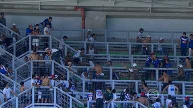 STJD nega efeito suspensivo, e jogo Cruzeiro x Grêmio será fora de BH - Tribunal não aceitou o pedido do clube celeste e partida terá que ser realizada longe do Mineirão, a 100 quilômetros da capital mineira.