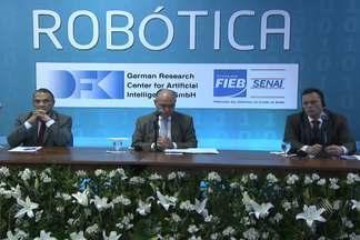 Instituto Brasileiro de Robótica é inaugurado nesta quinta em Salvador - O instituto vai criar robôs para trabalhar em setores da indústria que tenham dificuldade de encontrar profissionais.