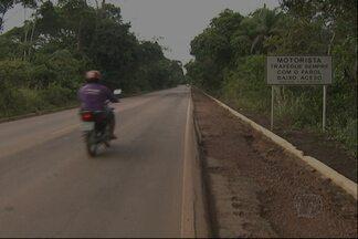 Fiscalização na BR-163 é discutida - Uma das propostas é para o município auxiliar a fiscalização em trecho urbano da rodovia Santarém-Cuiabá.