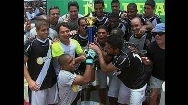 Vasco é campeão da primeira etapa do Brasileiro de Clubes de futebol de areia - Cruzmaltino vence o Vilavelhense por 4 a 3.