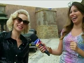 Veja os bastidores do barraco entre Aurora e Lola em Joia Rara - Letícia Spiller e Mariana Ximenes comentam cena