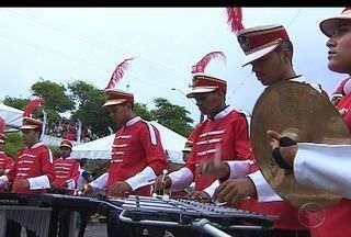 Bandas de Fanfarra de Sergipe participam de competição - Foi realizado o 6º concurso estadual de bandas de fanfarra.