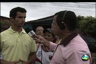 Comunidade de Aracaju sofre após canal transbordar com a chuva - Comunidade de Aracaju sofre após canal transbordar com a chuva
