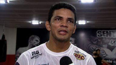 Carlos Índio defende título no BKF3 - Lutador cearense entra no octógono na próxima quinta-feira.