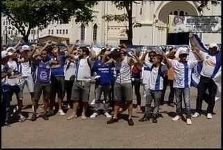 Cruzeirenses esbanjam confiança na conquista do título - Torcida organizada afirma lotar o Mineirão para o jogo contra o Grêmio.