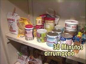 Tá Barato?! Organização também ajuda na economia doméstica - Uma profissional em organização mostra como manter tudo em ordem. E dá dicas de como economizar nas compras do supermercado.