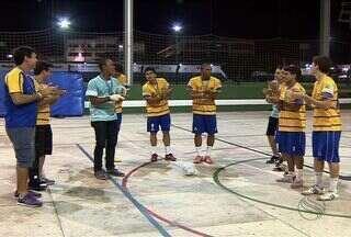 Time de futsal masculino da UNIT foi campeão dos JUBS - Os sergipanos conseguiram o acesso da terceira para a segunda divisão. O artilheiro isolado do JUBS foi o sergipano Pedrinho.