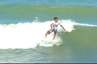 Paraibano mandam bem no Circuito Norestino de Surfe - Ao todo, foram nove pódios para o Estado na competição, que foi disputada em Natal.