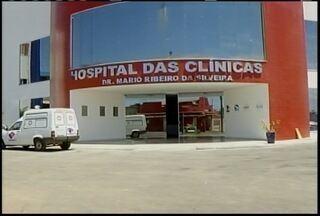 Hospital das Clínicas, em Montes Claros, ainda não realiza atendimentos - Hospital poderia estar atendendo como clínica.