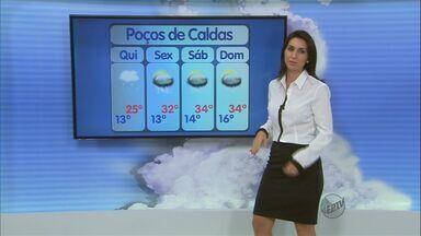 Confira a previsão do tempo no Sul de Minas para essa quinta-feira (7) - Confira a previsão do tempo no Sul de Minas para essa quinta-feira (7)