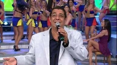 Zeca Pagodinho canta 'Atire a primeira pedra / Volta por cima' - O sambista levantou a galera