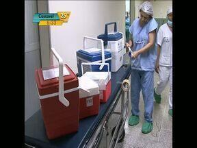 Família de Umuarama autoriza doação de órgãos de parente que teve morte cerebral - Médicos de São Paulo e do Paraná tiveram que trabalhar rápido na madrugada de domingo