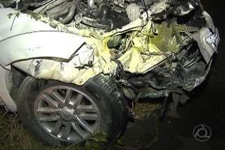 Acidente grave deixa uma pessoa morta e três feridas nesta noite de domingo - O acidente foi entre os distritos de Café do Vento e Cajá na BR-230.