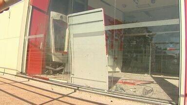 Ribeirão registra três ataques a caixas eletrônicos em dois dias - Já existem sete ocorrências do tipo na região desde quarta-feira (6)