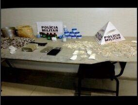Homem de 25 anos é preso na cadeia de Teófilo Otoni suspeito de tráfico de drogas - Suspeito foi flagrado com vários materias para a preparação de entorpecentes.