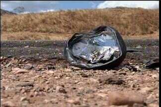 Dois jovens morreram vítimas de acidente no Cariri - Segundo testemunhas, os dois estavam bêbados.