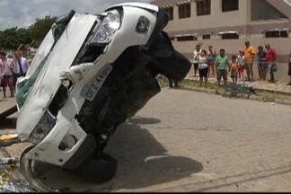 JPB2JP: Acidente em cruzamento mata construtor na Capital - A mulher dele ficou ferida.