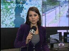 Trânsito está normalizado após chuva intensa dessa segunda-feira em Porto Alegre - Apenas um ponto está com alagamento na cidade.