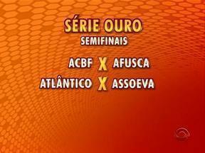 Última rodada da segunda fase da Série Ouro de Futsal aconteceu nessa quarta-feira - Veja quais foram os resultados e como ficaram as semifinais.